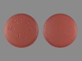 Imprint GS FFS 75 - Promacta 75 mg