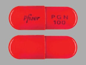 Imprint Pfizer PGN 100 - Lyrica 100 mg