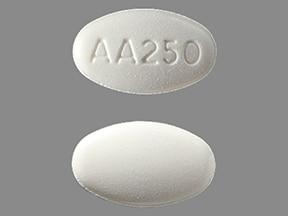 Imprint AA250 - abiraterone 250 mg