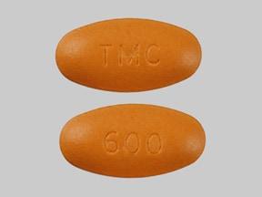 Imprint TMC 600 - Prezista 600 mg