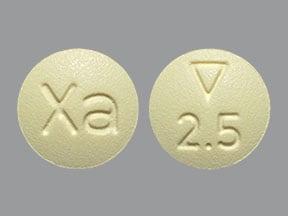 Imprint Logo 2.5 Xa - Xarelto 2.5 mg