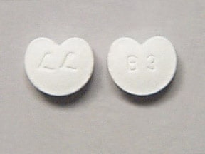 Imprint L L B 3 - Zebeta 10 mg