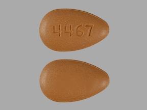 Imprint 4467 - Adcirca 20 mg