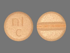Imprint nl c - carbidopa 25 mg