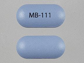 Imprint MB-111 - Moxatag 775 mg