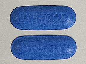 Imprint DYN-065 - Solodyn 65 mg