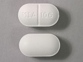 Imprint MIA 106 - acetaminophen/butalbital 325 mg / 50mg