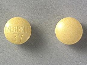 Imprint MERRELL 37 - Cantil 25 MG