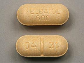 Imprint FELBATOL 600 04 31 - Felbatol 600 mg