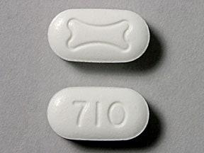 Imprint 710 Logo - Fosamax Plus D 70 mg / 2800 intl units