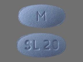 Imprint M SL 20 - sildenafil 20 mg (base)