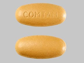 Imprint COMTAN - entacapone 200 mg