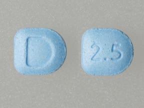 Imprint D 2.5 - Focalin 2.5 mg
