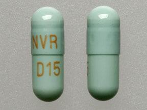 Imprint NVR D15 - Focalin XR 15 mg