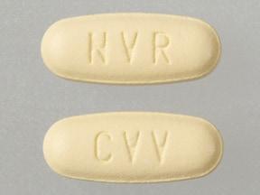 Imprint NVR CVV - Tekturna HCT 300 mg / 25 mg