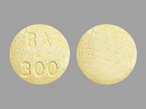 Imprint BA 300 - acetaminophen/butalbital 300 mg / 50 mg
