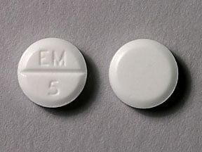 Imprint EM 5 - methimazole 5 mg