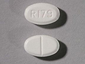 Imprint R179 - tizanidine 2 mg