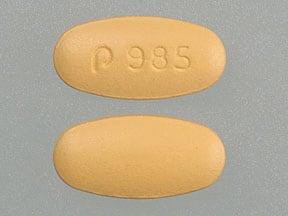 Imprint P 985 - nateglinide 120 mg