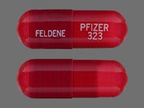 Image 1 - Imprint FELDENE PFIZER323 - Feldene 20 mg
