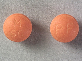 Imprint PF M 60 - MS Contin 60 mg