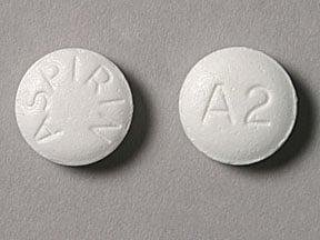 Imprint ASPIRIN A2 - aspirin 325 mg
