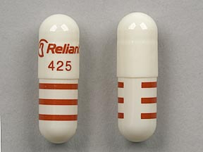 Imprint Logo Reliant 425 - Rythmol SR 425 mg