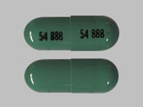 Imprint 54 888 54 888 - zaleplon 10 mg