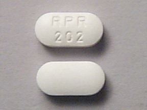 Imprint RPR 202 - Rilutek 50 mg