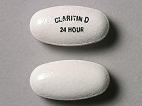Image 1 - Imprint CLARITIN D 24 HOUR - Claritin-D 24 Hour 10 mg / 240 mg