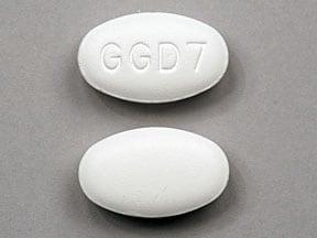 Imprint GGD7 - azithromycin 600 mg