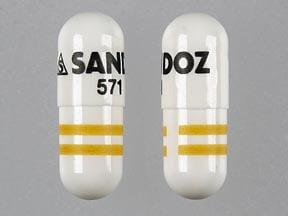 Imprint S SANDOZ 571 - amlodipine/benazepril 2.5 mg / 10 mg