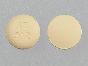 Imprint SZ 912 - cetirizine 5 mg / 120 mg