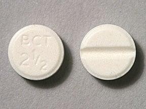 Imprint BCT 2 1/2 - bromocriptine 2.5 mg