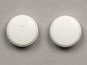 Imprint T - terbinafine 250 mg
