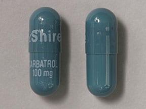 Imprint Shire CARBATROL 100 mg - Carbatrol 100 mg