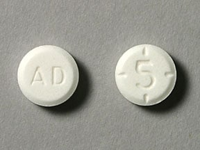 Imprint AD 5 - Adderall 5 mg