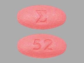 Imprint E 52 - ambrisentan 10 mg