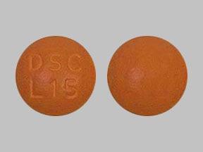 Imprint DSC L15 - Savaysa 15 mg