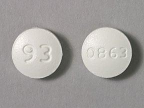 Imprint 0863 93 - ciprofloxacin 250 mg