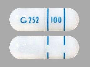 Imprint G 252 100 - ConZip 100 mg