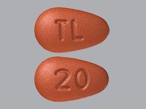 Imprint TL 20 - Trintellix 20 mg