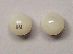 Imprint UM - Marinol 2.5 mg