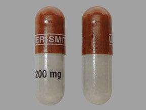 Imprint UPSHER-SMITH 200 mg - Qudexy XR 200 mg