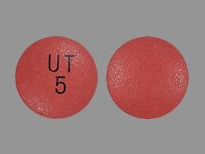 Imprint UT 5 - Orenitram 5 mg
