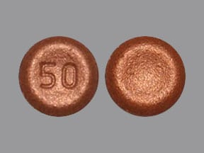 Imprint 50 - Xadago 50 mg