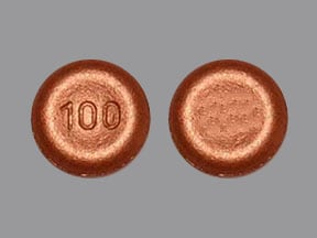 Imprint 100 - Xadago 100 mg