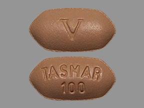 Imprint V TASMAR 100 - tolcapone 100 mg