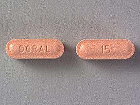 Imprint 15 DORAL - Doral 15 mg