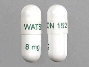 Imprint WATSON 152 8 mg - Rapaflo 8 mg